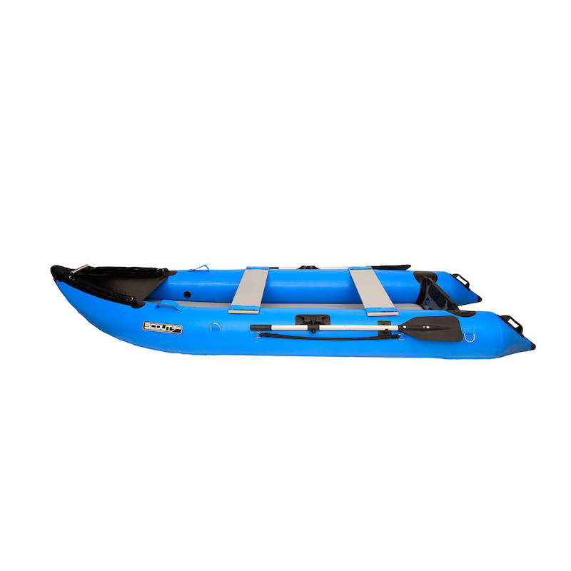 Scout Inflatables Scout365 Portable Inflatable Boat Blue