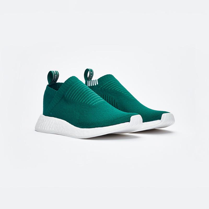 """Sneakersnstuff Exclusive adidas Originals NMD CS2 PK """"Class of 99"""" in Green"""