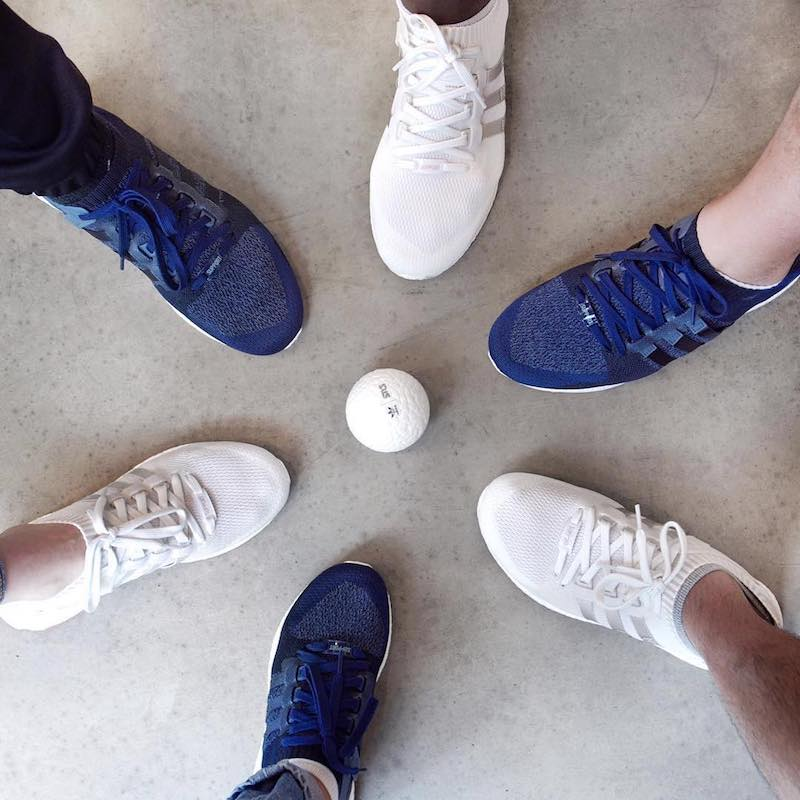 Sneakersnstuff x adidas Originals EQT Materials Pack