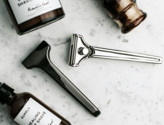 SUPPLY Single Edge 2.0 Solid Stainless Steel Razor
