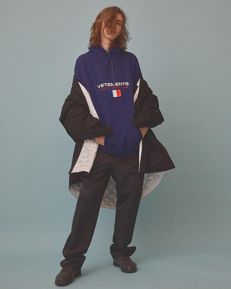 Vetements Stoner Hooded Sweatshirt