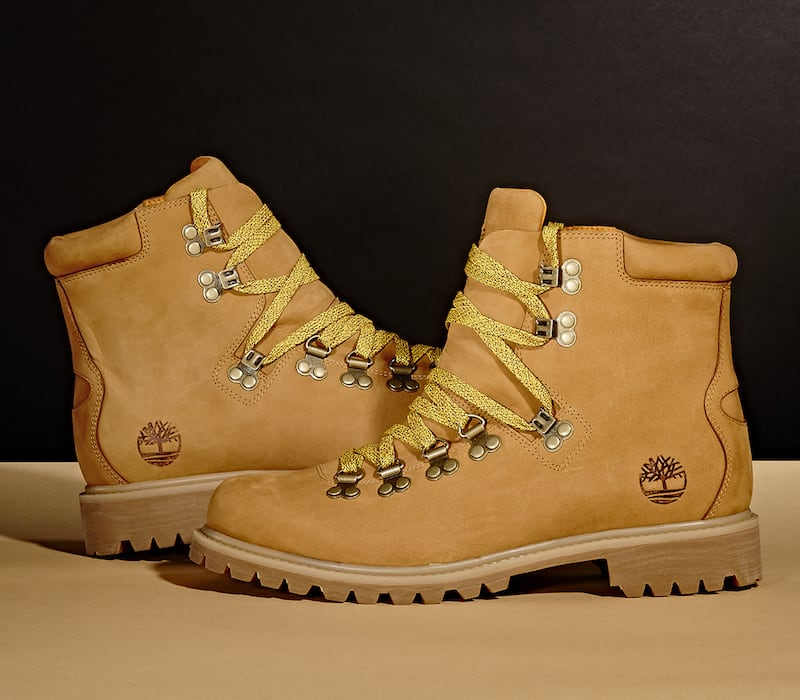 "BNY Sole Series x Timberland Tan ""Authentic Hike"" Nubuck Boots"