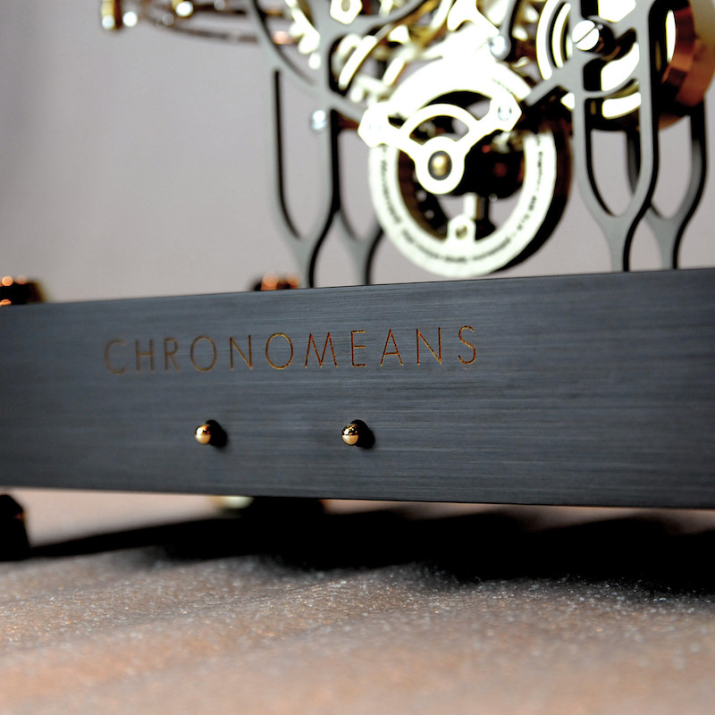 Chronomeans Rolling Ball Clock by ABRASAX Design Group