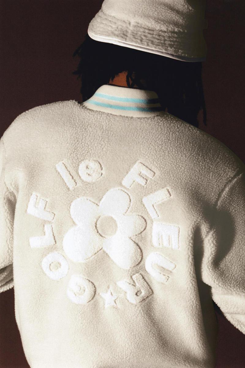 Converse x Tyler, The Creator Golf le Fleur* Sherpa Bomber