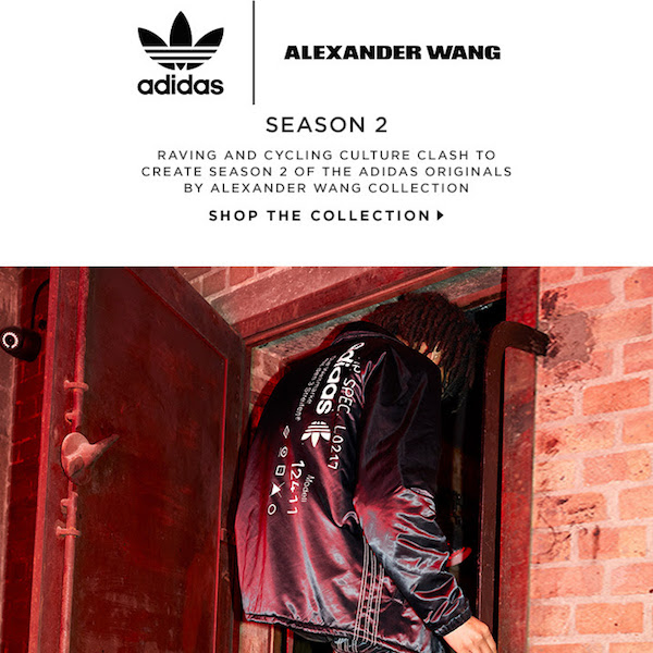 Shop adidas by Alexander Wang Season 2 at FWRD