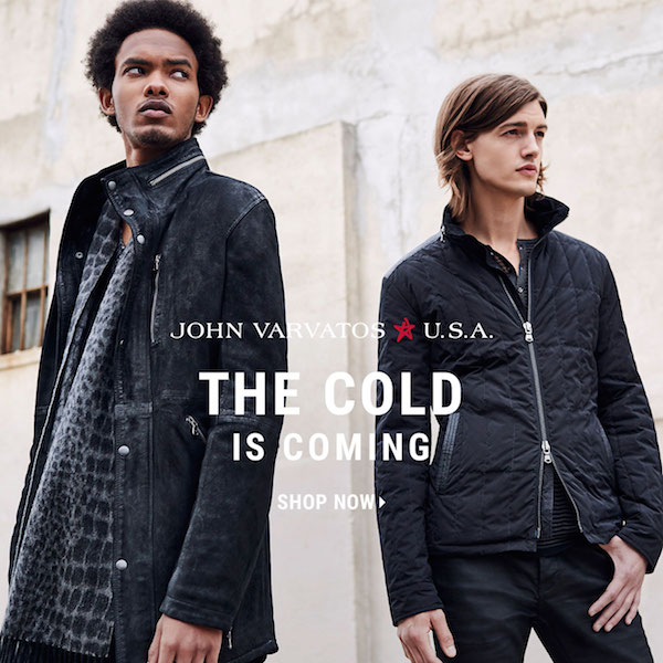 John Varvatos Style Guide // Combat the Winter in Style