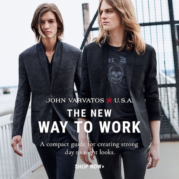 John Varvatos the New Way to Work