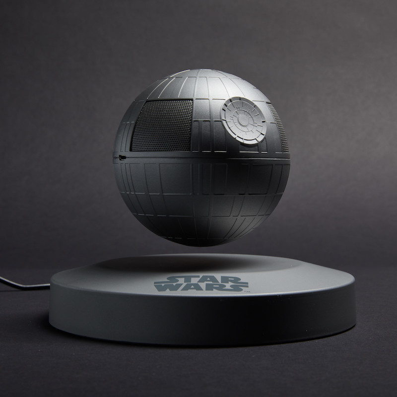 Plox Levitating Death Star Bluetooth Speaker