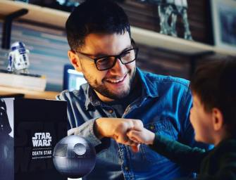 Shut Up and Take My Money // Plox Levitating Death Star Bluetooth Speaker