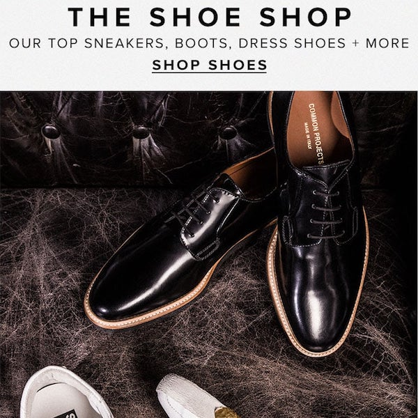 REVOLVEman Fall 2017 The Shoe Shop