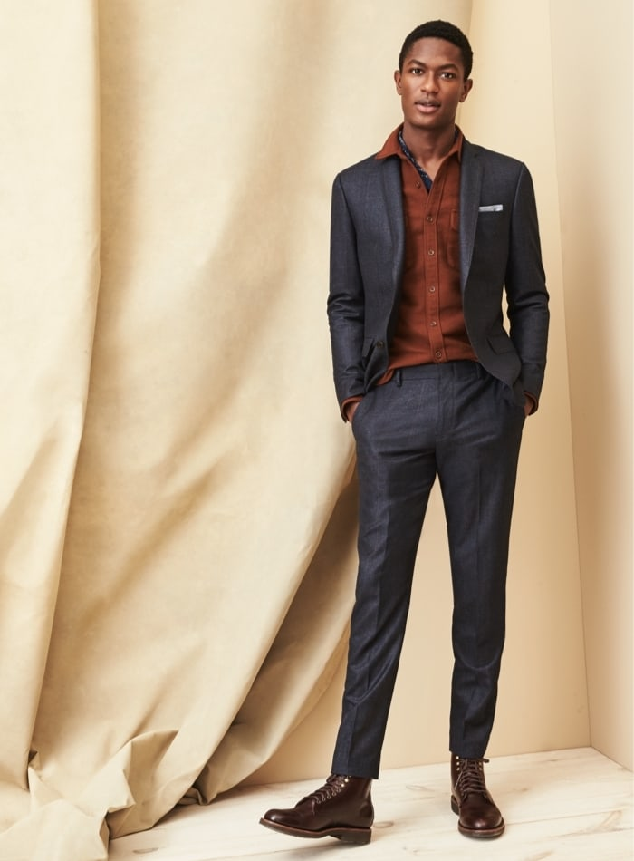 J.Crew Ludlow Slim Suit Jacket In Italian Stretch Donegal Wool