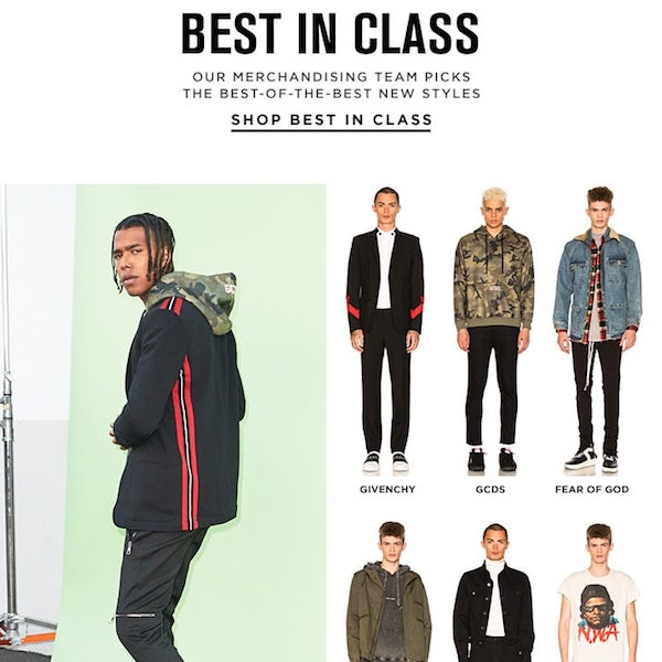 Best in Class: New Year, New Clothes 2018