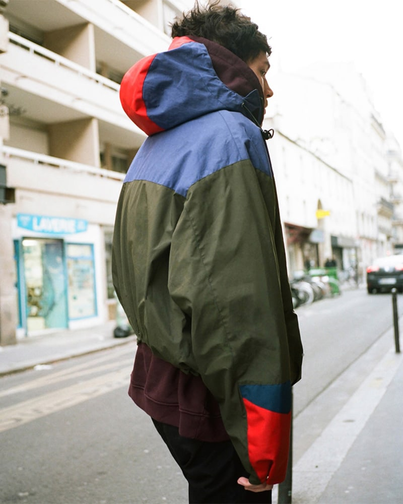 Martine Rose Colorblocked Tech-Fabric & Canvas Anorak
