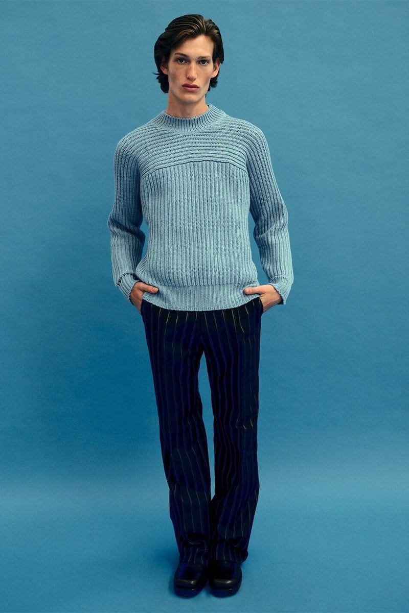 JACQUEMUS Merino Wool Knit Sweater