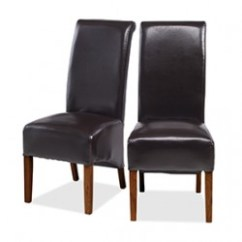 Dining Chairs Uk Ikea Chair With Ottoman Wooden And Leather In Oak Sheesham Wood Lifestyle Cuba Dark Leg Bonded Brown Pair