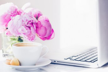 haute chocolate styled stock photography peonies and coffee-6-final