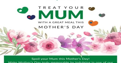 Treat your MUM with a great meal this MOTHER'S DAY