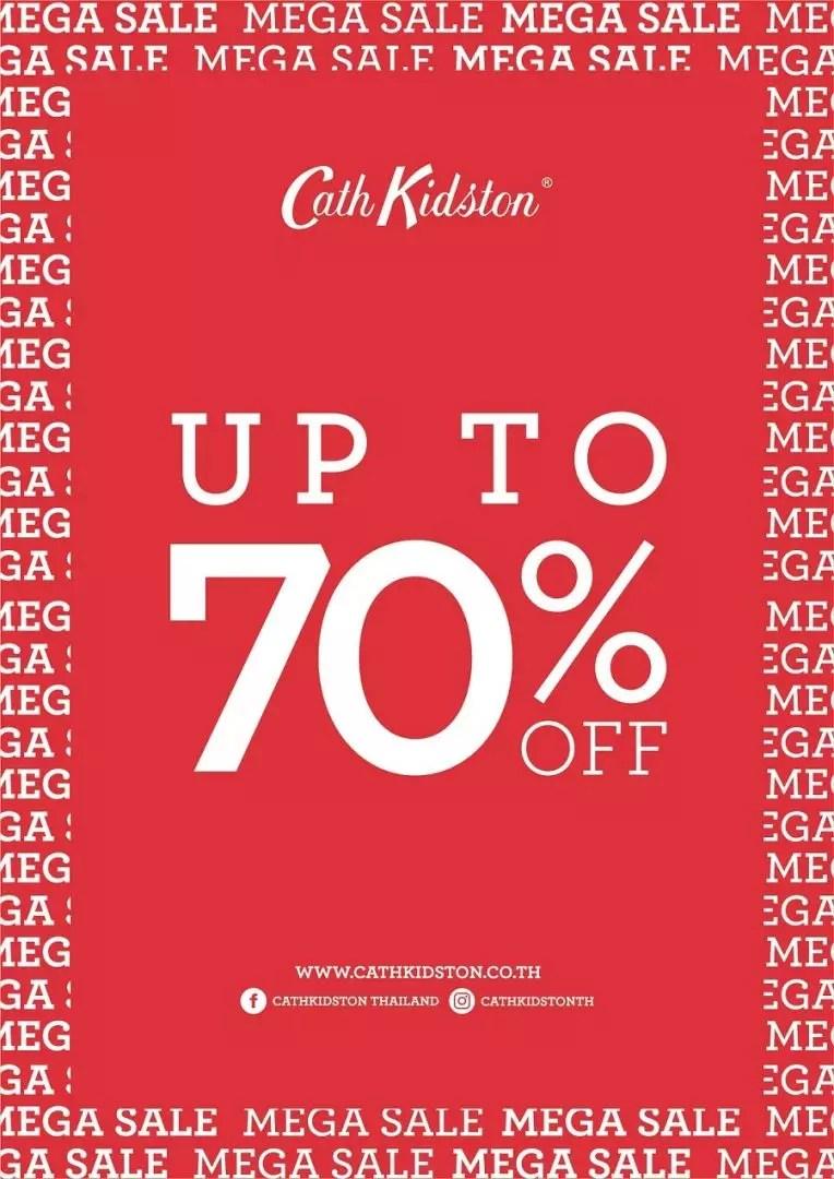 Cath Kidston ส่งแคมเปญ Mega Sale ลดจัดหนัก 70%