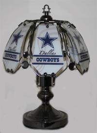 Dallas Cowboys 4 touch lamp