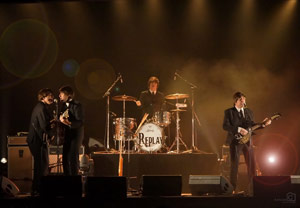beatles cover band replay