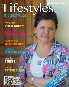 Orillia Lifestyles Magazine September October 2015 Issue Cover