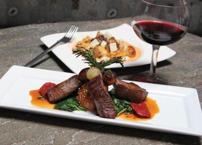 restaurant dinner plate