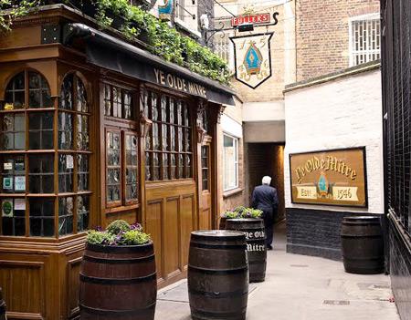 Ye Olde Mitre Pub, London, England