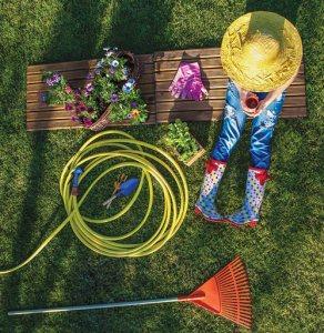 gardener on break