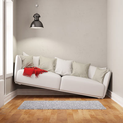 couch not fitting in room