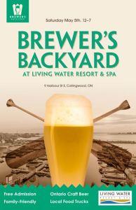 Collingwood Brewer's Backyard Beer Festival @ Living Water Resort & Spa Courtyard | Collingwood | Ontario | Canada