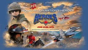 Heroes Festival @ Beach Area 1, Wasaga Beach   Wasaga Beach   Ontario   Canada