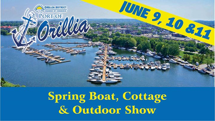 Image result for orillia spring boat and cottage show