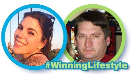Prize winners #WinningLifestyle