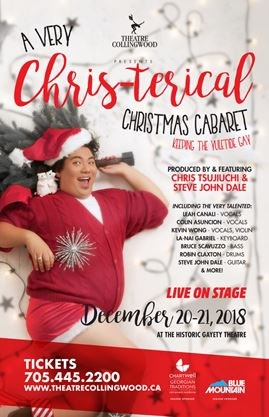 Theatre Collingwood A Very Chris-Terical Christmas Cabaret Facebook