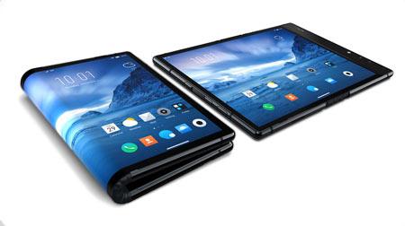 flexible folding mobile device