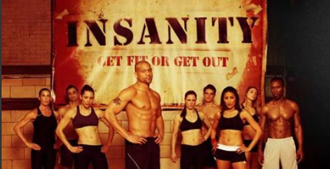 The Insanity workour group
