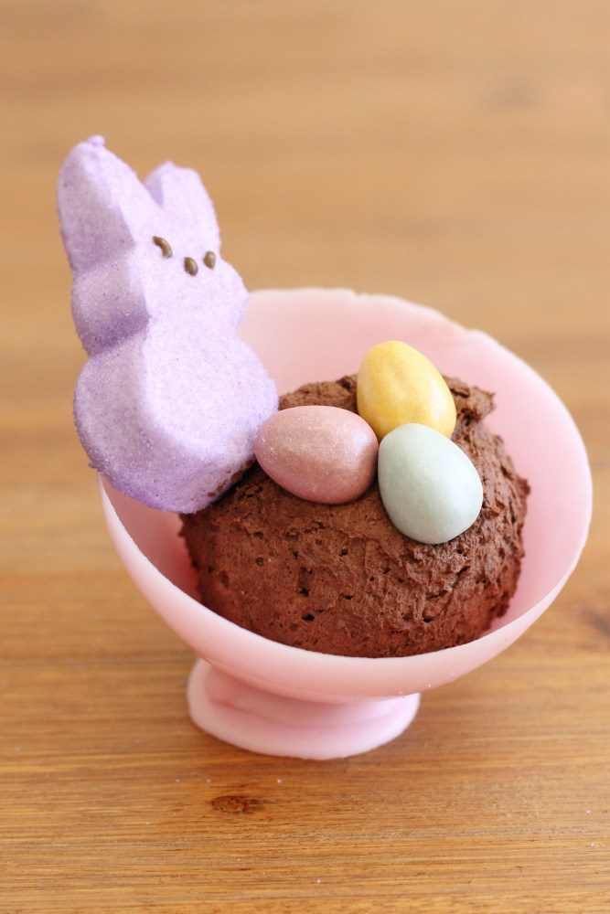 chocolate bowls for Easter