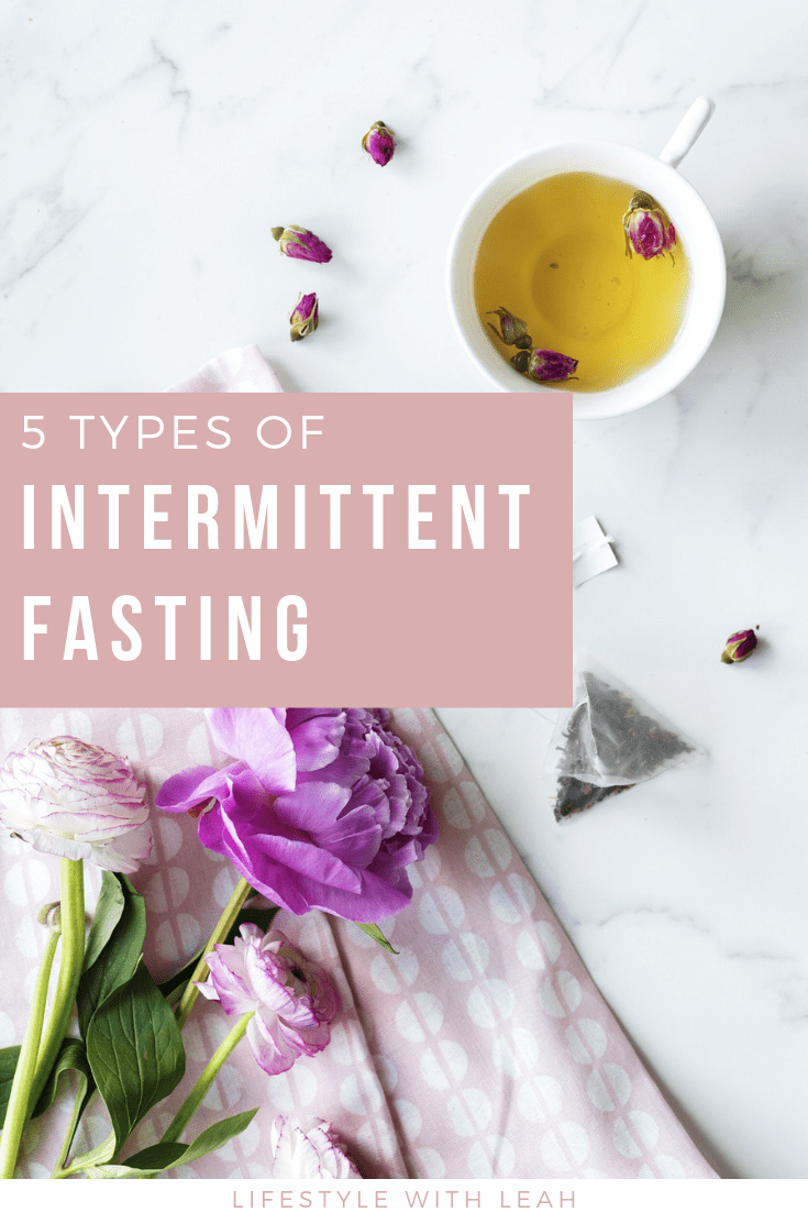 5 Types of Intermittent Fasting Title
