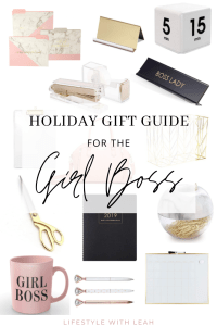 Holiday Gift Guide for the Girl Boss