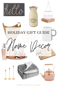 Holiday Gift Guide Home Decor