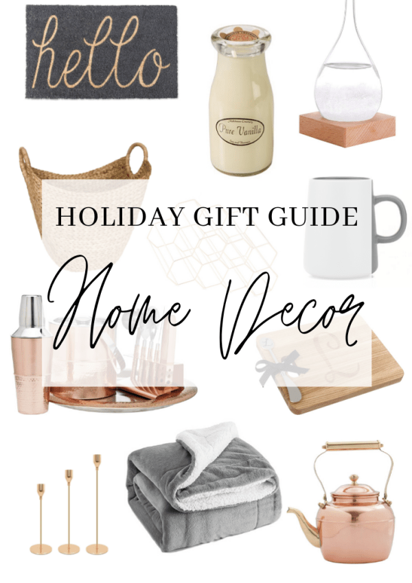 Holiday Gift Guide – Home Decor
