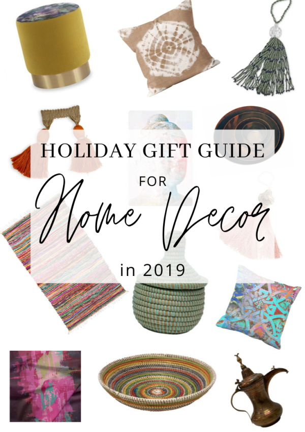 Holiday Gift Guide for Home Decor in 2019