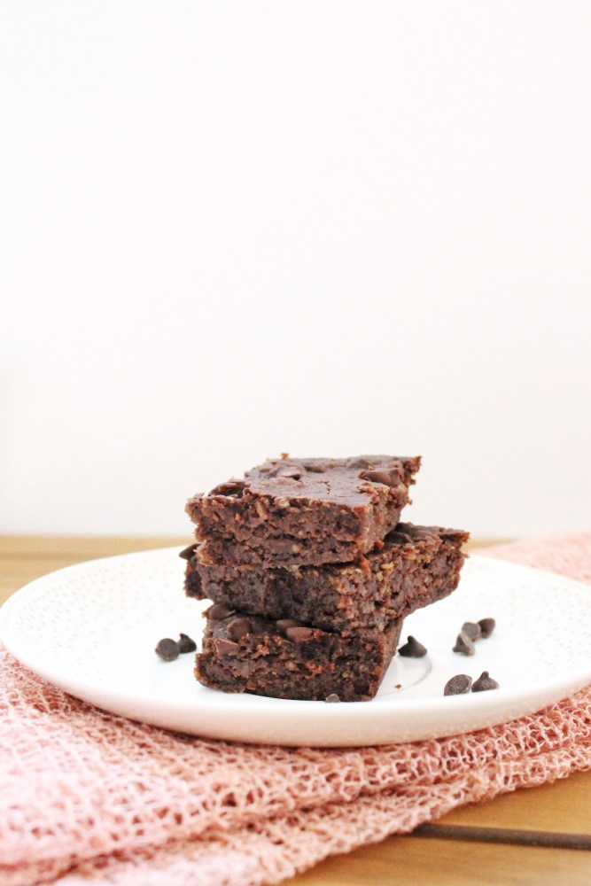 cooked black bean brownies