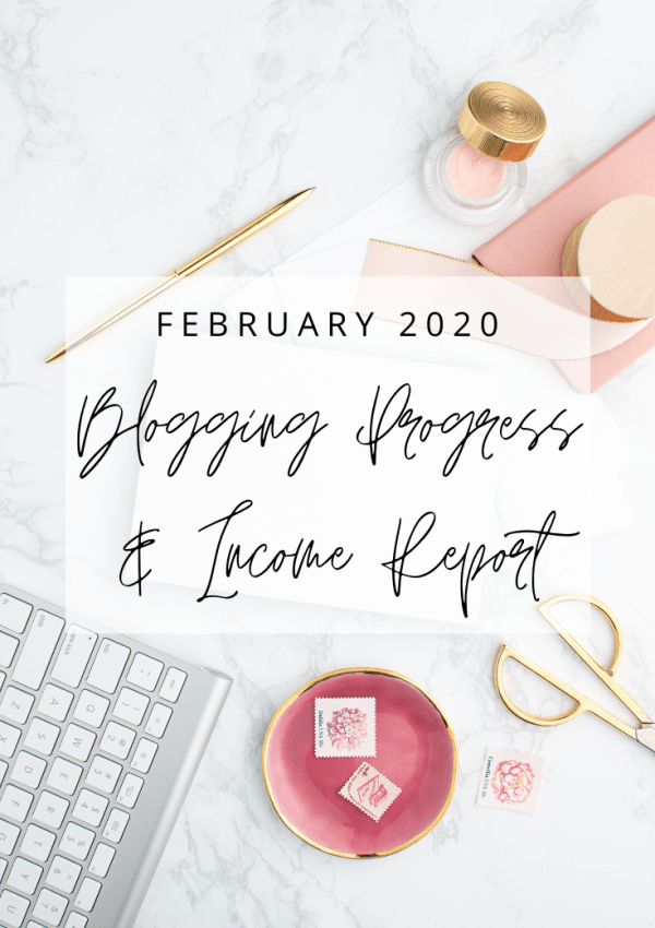 February 2020 Blog Progress and Income Report