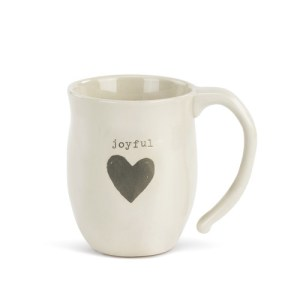 joyful heart coffee mug
