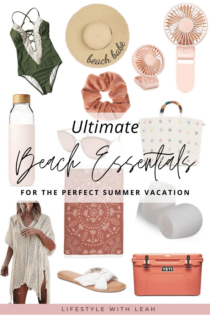 beach essentials for summer vacation