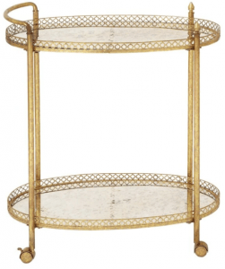 Gold Bar Cart holiday gift 2020