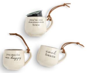 Coffee Pod Mug Ornaments