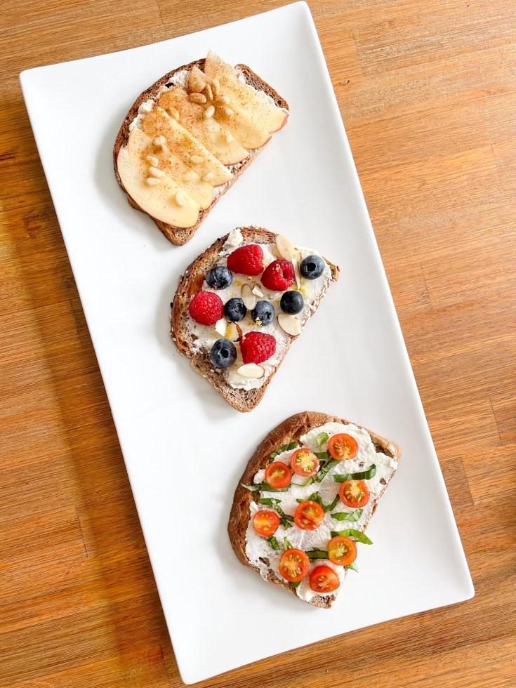 Eatsane Ricotta Toast