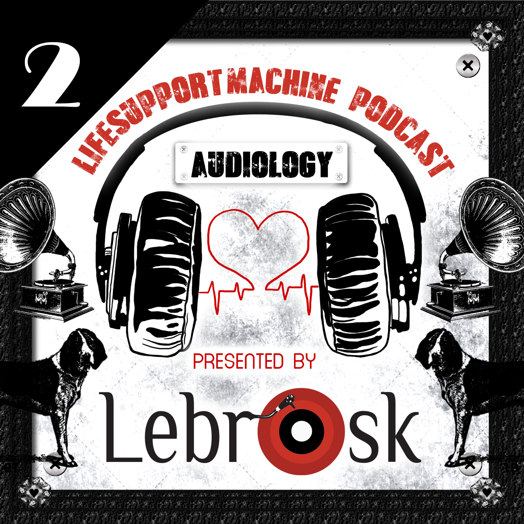 Lebrosk - Audiology Podcast #2 (Guestmix by DJ Chamber